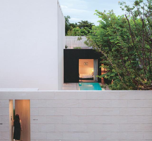 ngôi nhà có kiến trúc cách tân hoàn toàn mới